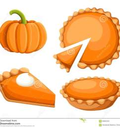 pies vector illustration thanksgiving and holiday pumpkin pie happy thanksgiving day traditional pumpkin pie [ 1300 x 1173 Pixel ]