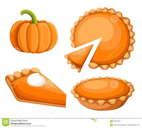 small resolution of pies vector illustration thanksgiving and holiday pumpkin pie happy thanksgiving day traditional pumpkin pie