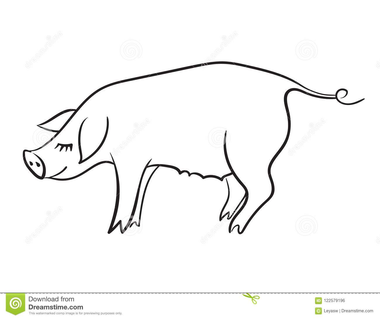 Great Pig Template Pictures # Clipart Pig Template
