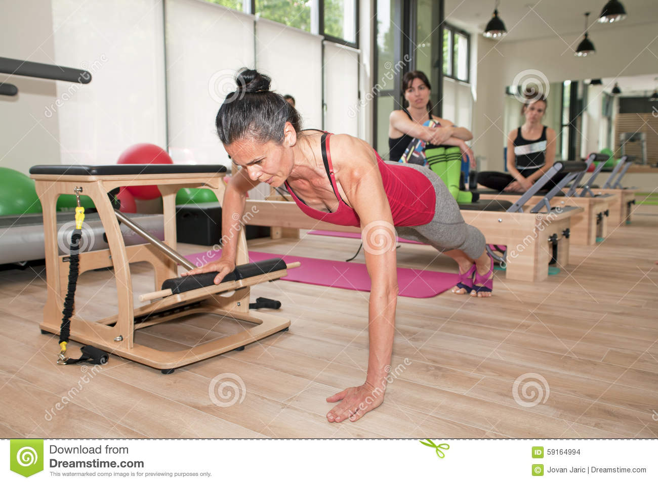chair gym workout videos covers perth cheap stock images pilates on image 59164994