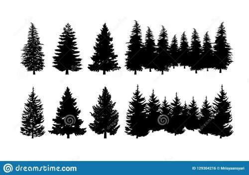 small resolution of concept design a illustration vector of pine tree vector clip art isolated on white background