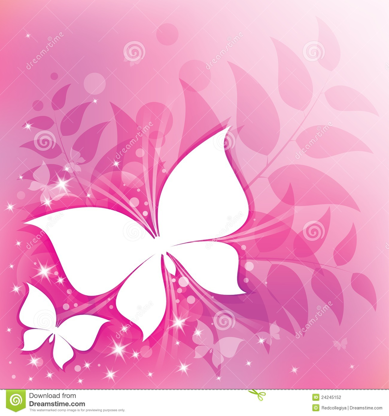 Pink Abstract Stock Photography Image 24245152