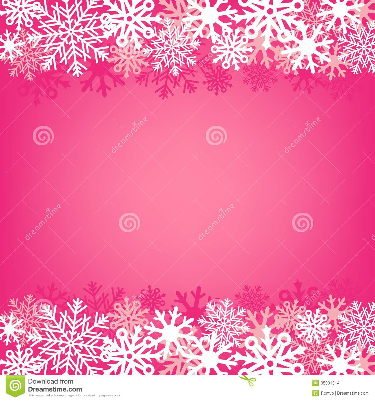 Cute Pink Snowman Wallpaper Pink Snow Background Stock Images Image 35031314