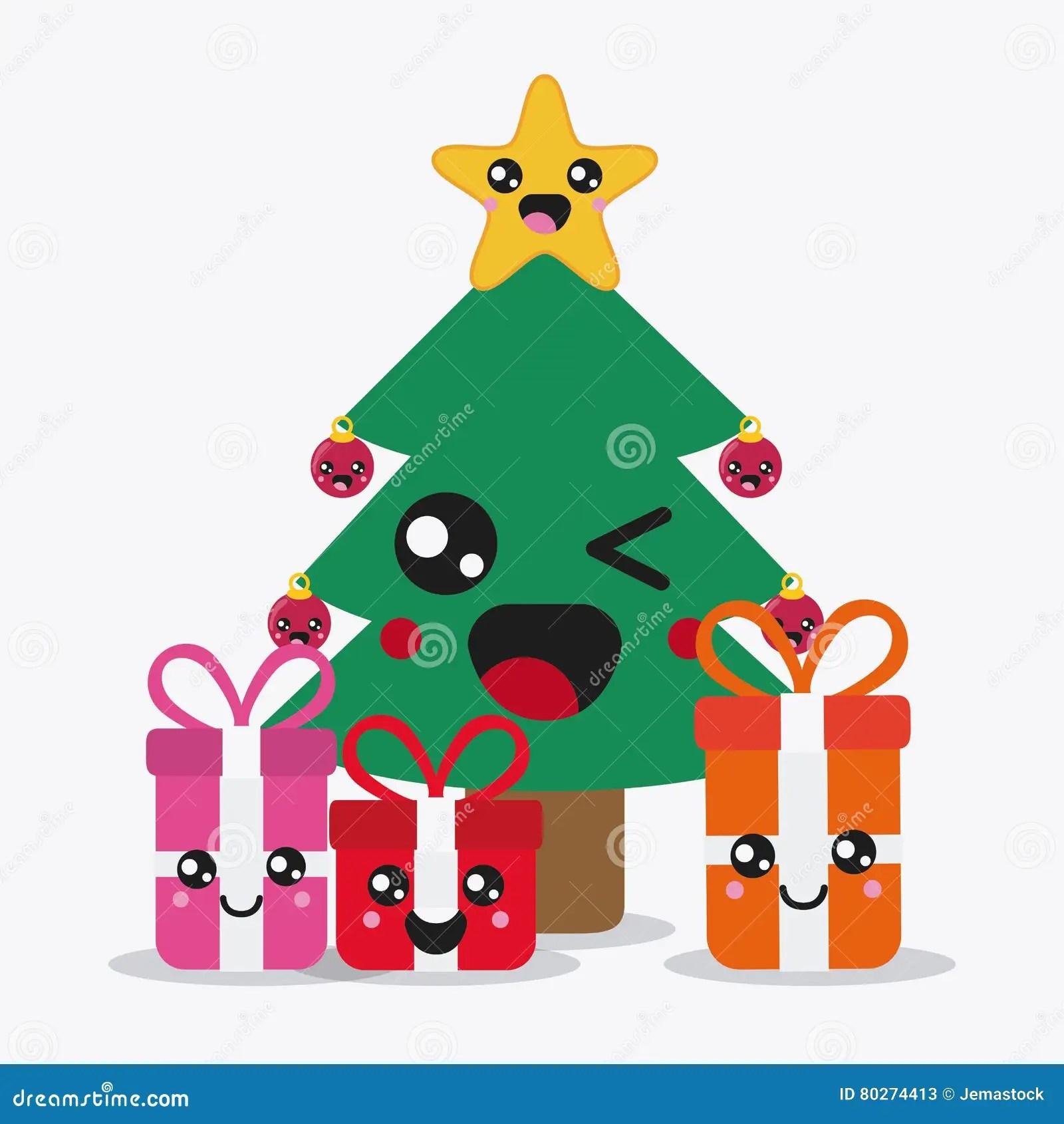 Immagini Natalizie Kawaii.Decorazioni Kawaii Addobbo Decorazione Per Albero Di Natale