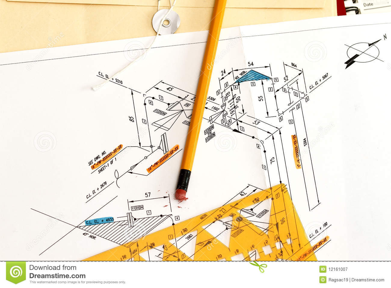 hight resolution of piping and instrument diagram