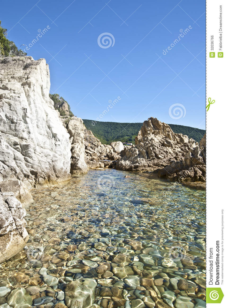 Piscina Naturale Royalty Free Stock Image  Image 32036766