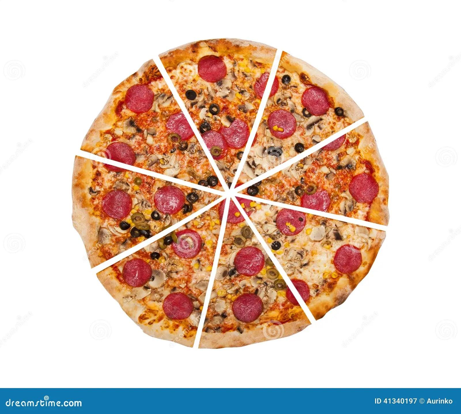 Pizza Stock Image Image Of Ingre Nts Fast Black