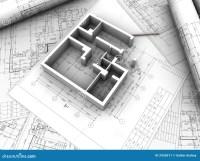 Plan drawing stock illustration. Illustration of engineer ...