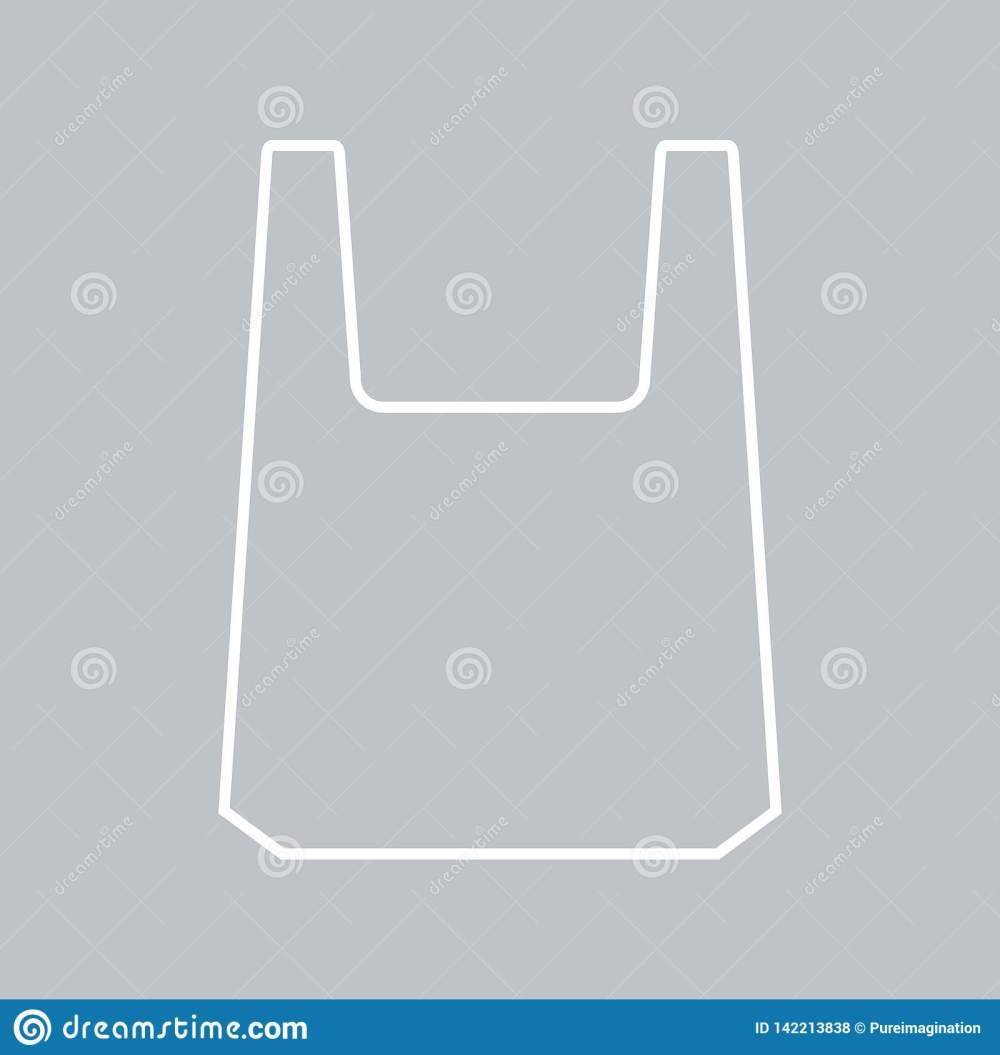 medium resolution of plastic bag icon for background promotion sale template banner flayer poster and other