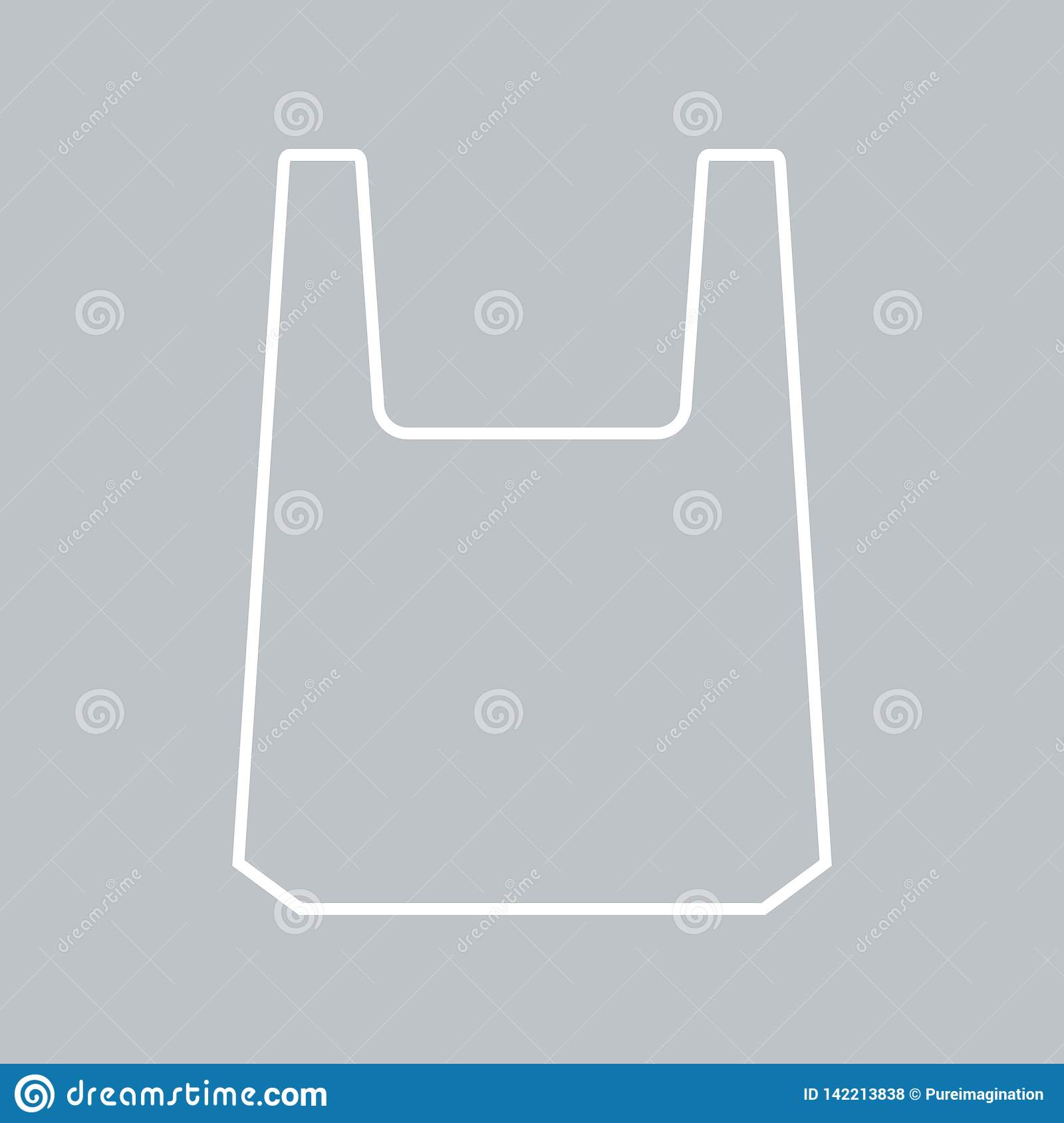 hight resolution of plastic bag icon for background promotion sale template banner flayer poster and other