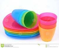 Plastic Cups And Plates Royalty Free Stock Photos - Image ...