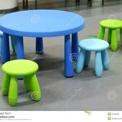 Lifetime Plastic Chairs Philippines Rustic Wooden Uk Furniture Stock Image Of Rounded Children