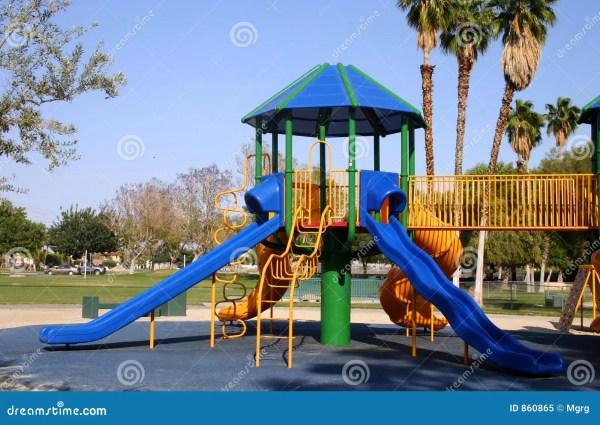 slides Playground slides stock image. Image of slides, gate