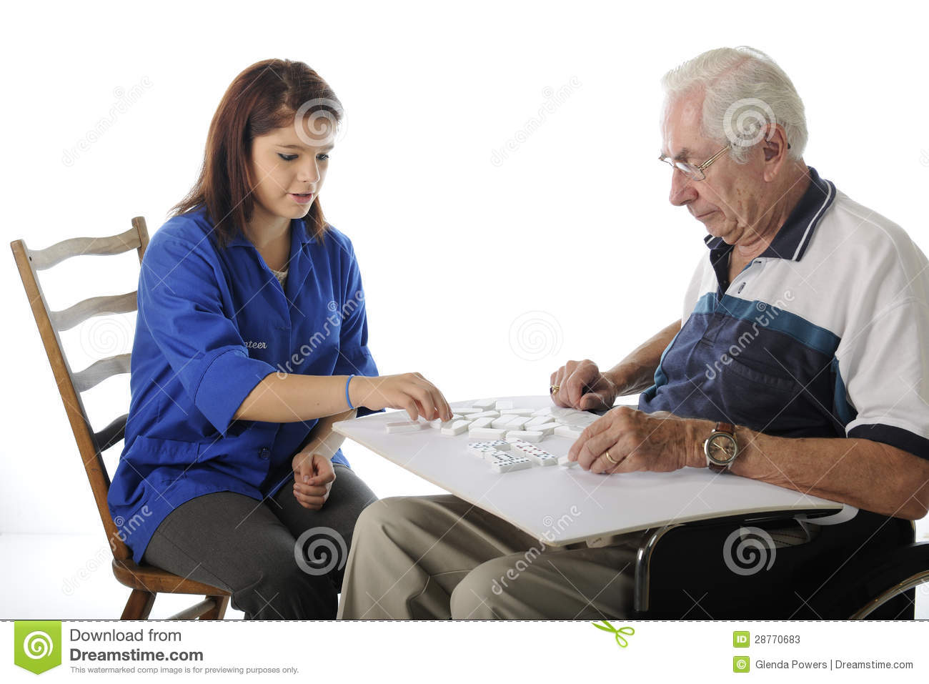 chair games for seniors extra large office playing with the elderly stock image 28770683