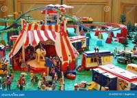 Playmobil Circus editorial stock photo. Image of animals ...