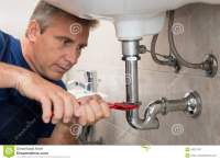 Plumber Repair Water Pipe Stock Photo - Image: 46379767