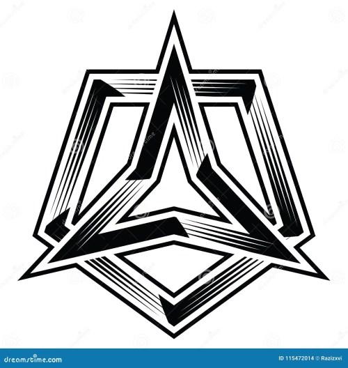 small resolution of 3points star three corner angle point triangle polygon trilogy trinity trefoil pentagon polygon 5points trio tri five flat logo icon badge banner sticker