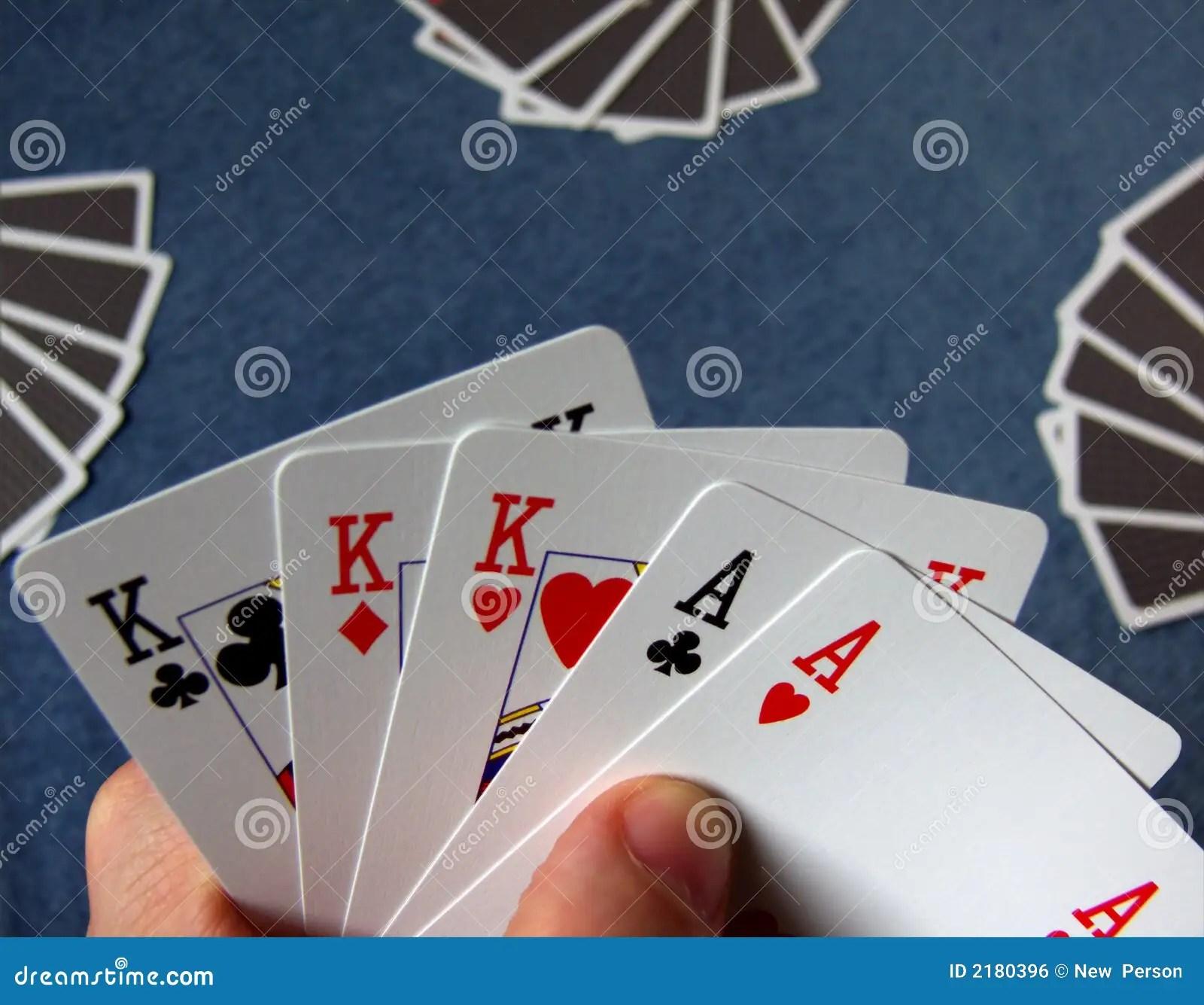 Texas Holdem 2 Full Houses