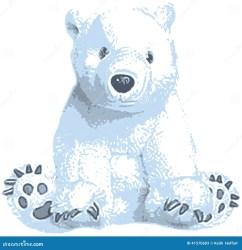 polar bear clipart clip vector cute cartoon illustration christmas adobe illustrator print created polarbear preview cliparts