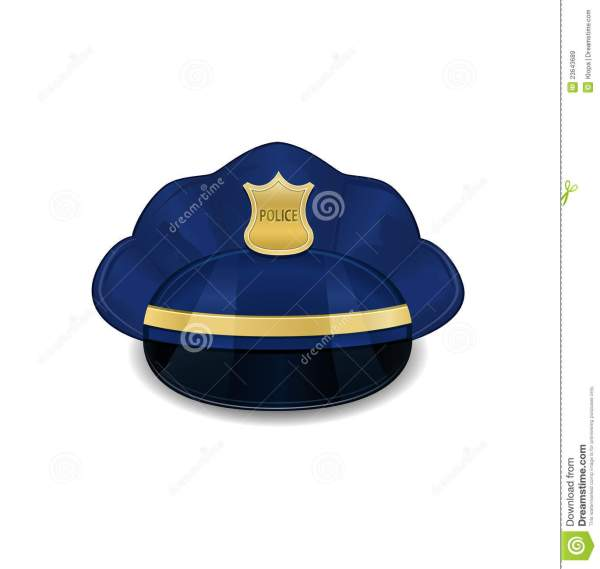 Police Hat Icon Royalty Free Stock - 23643689