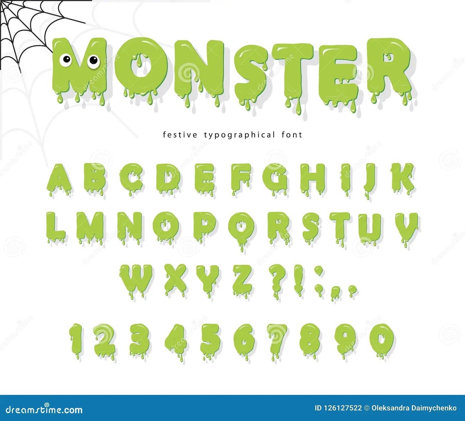 enfants lettres et nombres verts minces