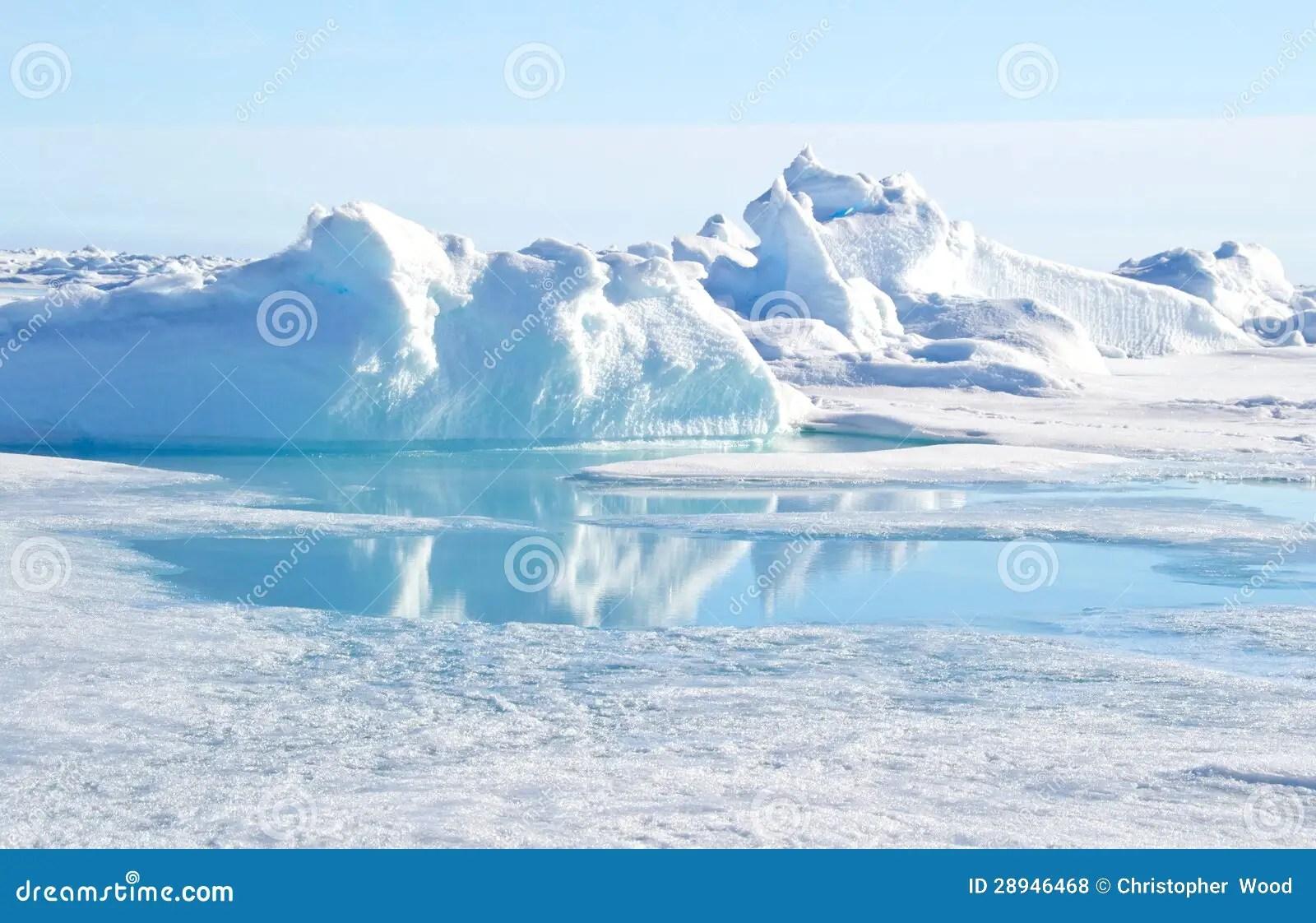 Polo nord geografico fotografia stock Immagine di nave