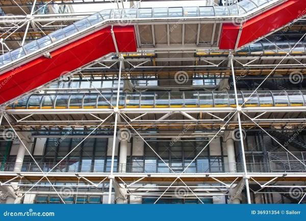 Pompidou Centre In France Stock - 36931354
