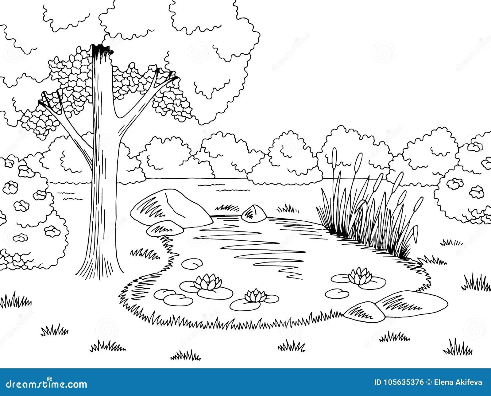 Black White Lake Stock Illustrations 5 020 Black White Lake Stock Illustrations Vectors