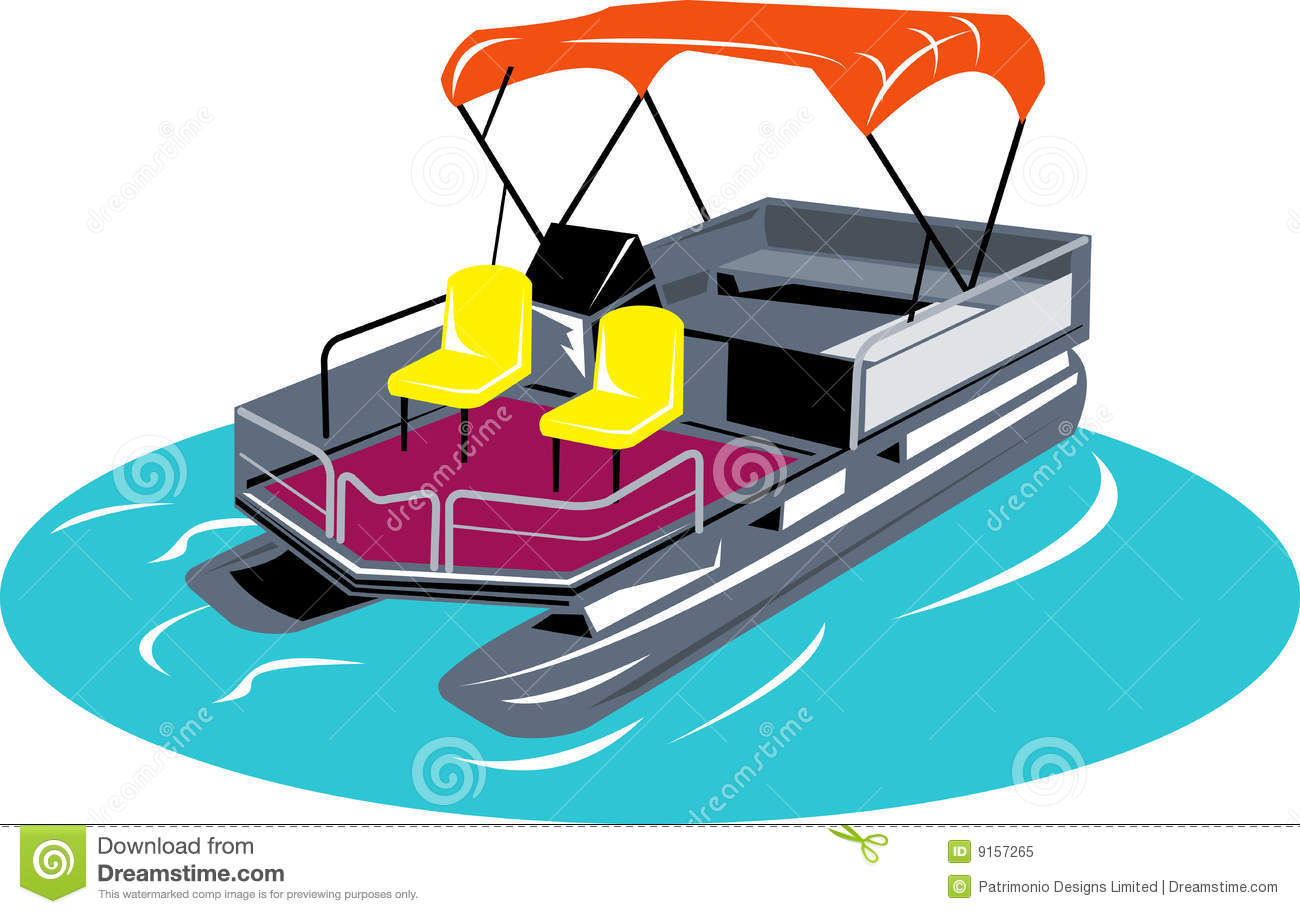 hight resolution of pontoon boat vector illustration of a pontoon boat isolated on white background vector illustration