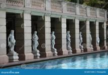 Pool Biltmore Hotel Coral Gables Fl Royalty Free