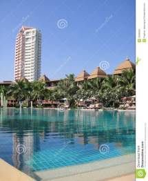Pool Hotel Royalty Free Stock - 32888029