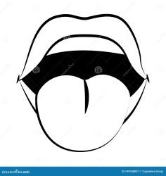 Pop art comic lips cartoon stock vector Illustration of design 149106857