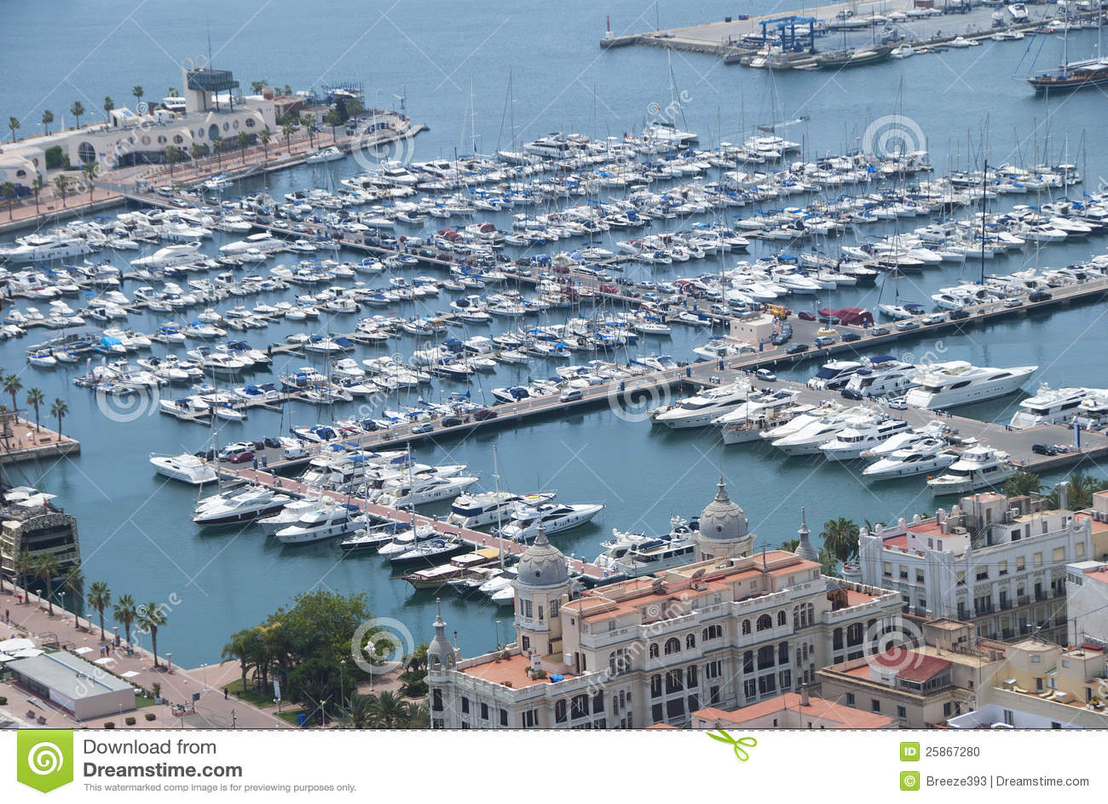 Port Alicante Espagne Photo Stock Image Du Espagne