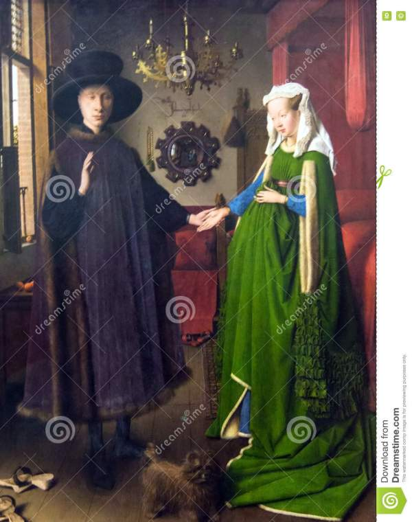 Van Eyck Giovanni Arnolfini and His Wife
