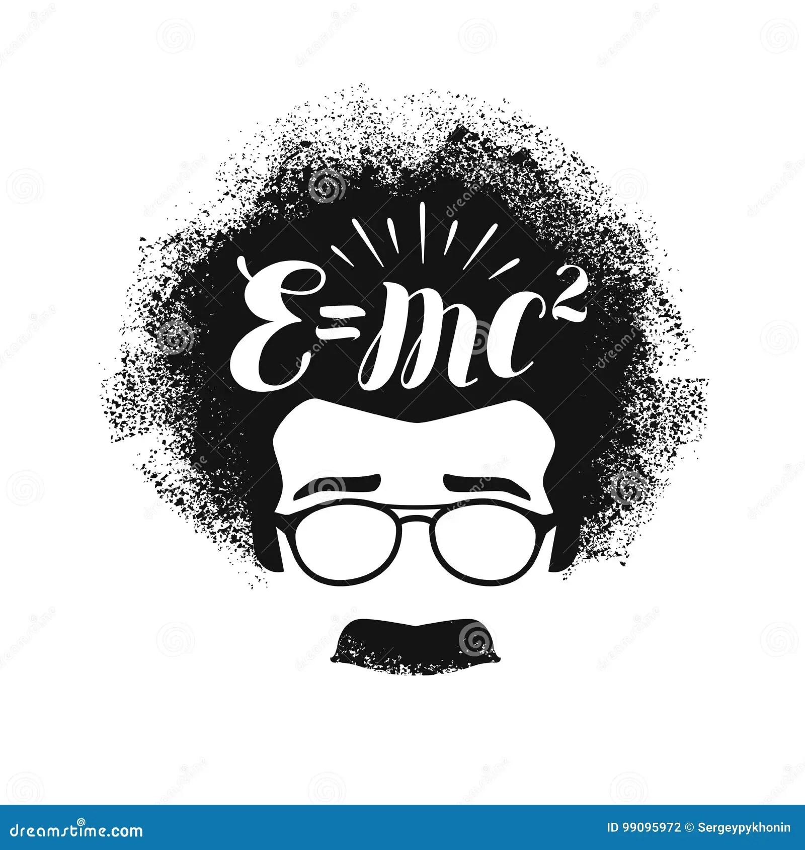 Albert Dessin Einstein Stock Illustrations Vecteurs