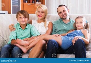 class middle portrait children interior smiling focus woman