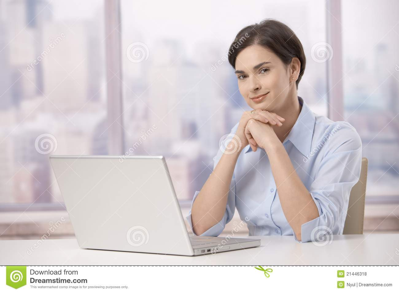 Portrait Of Professional In Office Royalty Free Stock