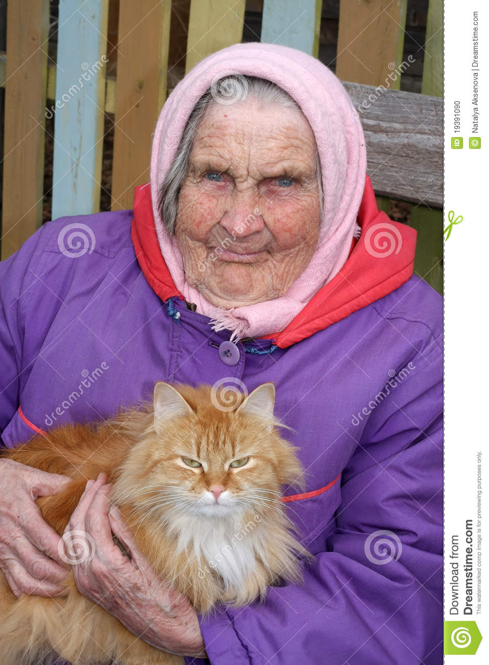 Portrait Of A Very Old Woman Stock Photo  Image of face