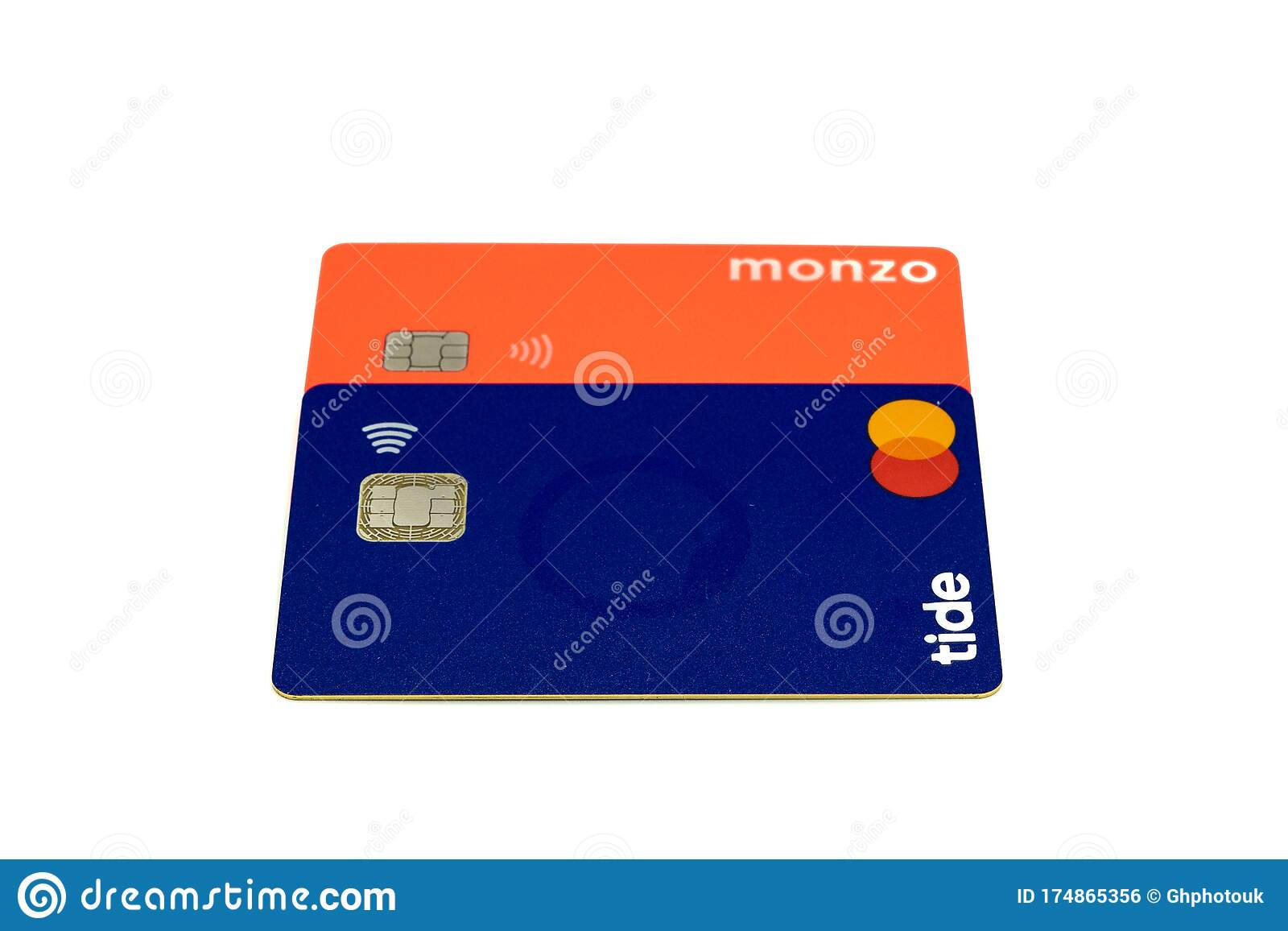 03 04 2020 Portsmouth Hampshire Uk Two Debit Cards From Online Banks On For Tide Bank And One For Monzo Bank Editorial Photo Image Of Banks Mastercard 174865356