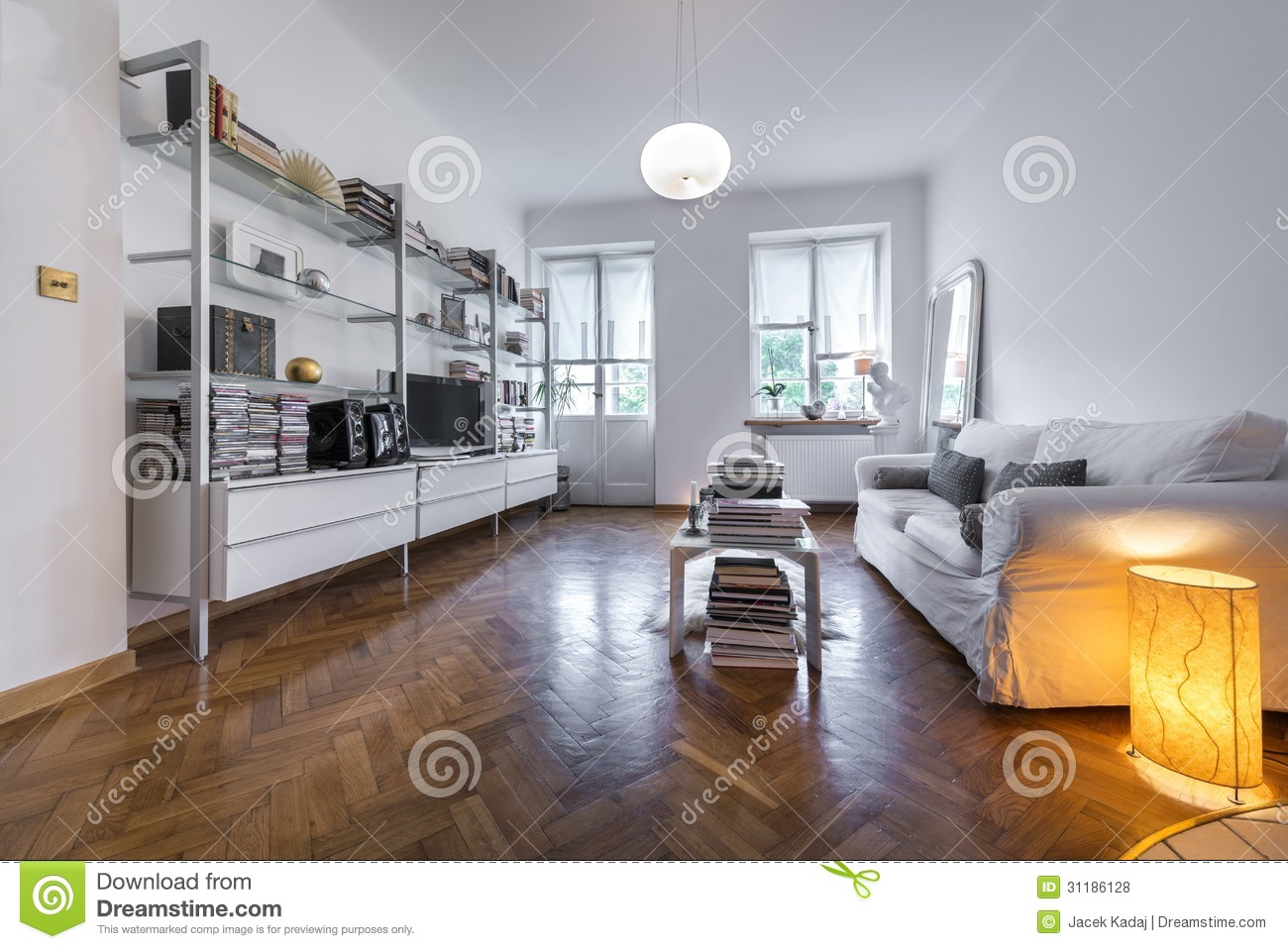 Post Modern Interior Design Interior Royalty Free Stock Photos