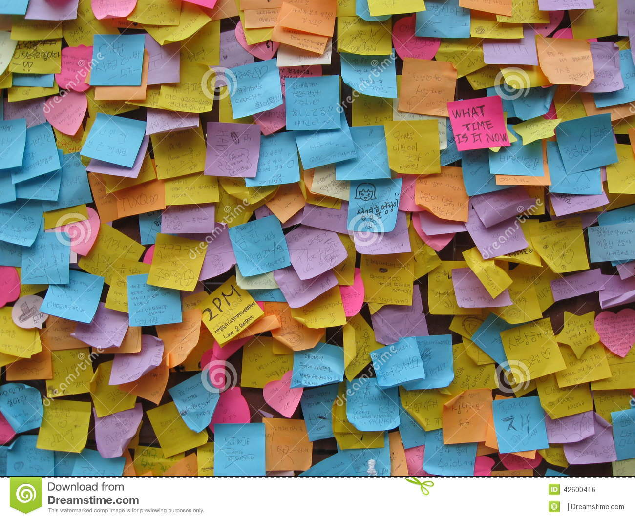 post it note wishes