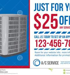 postcard advertisement template for hvac company stock vectorpostcard advertisement template for hvac company [ 1300 x 1000 Pixel ]
