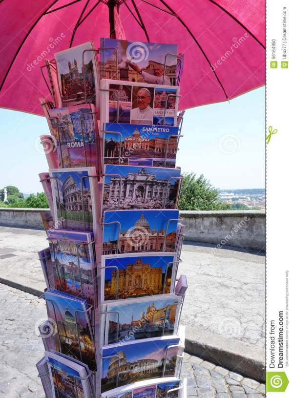 Postcards From Rome Italy