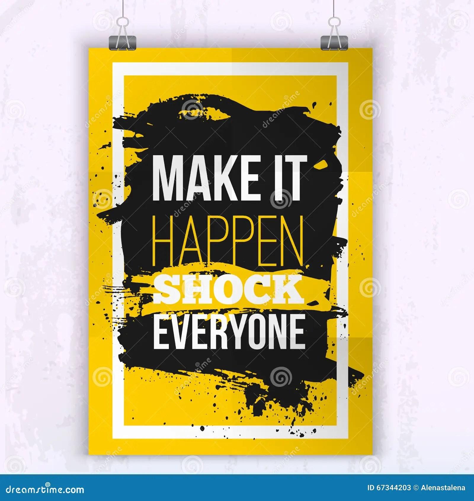 poster make it happen