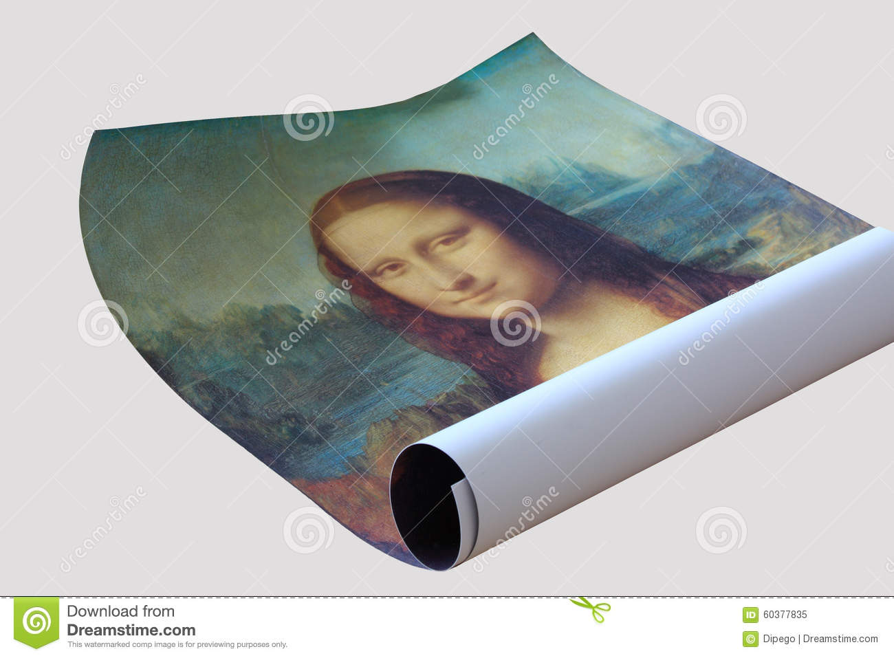 poster roll of mona