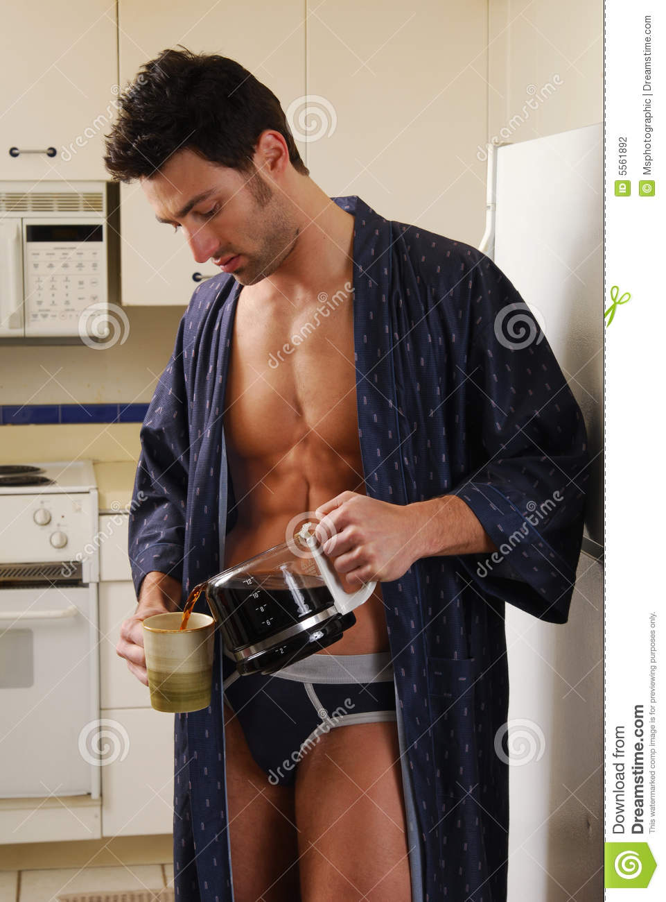 Pouring Coffee stock photo Image of young pecs morning