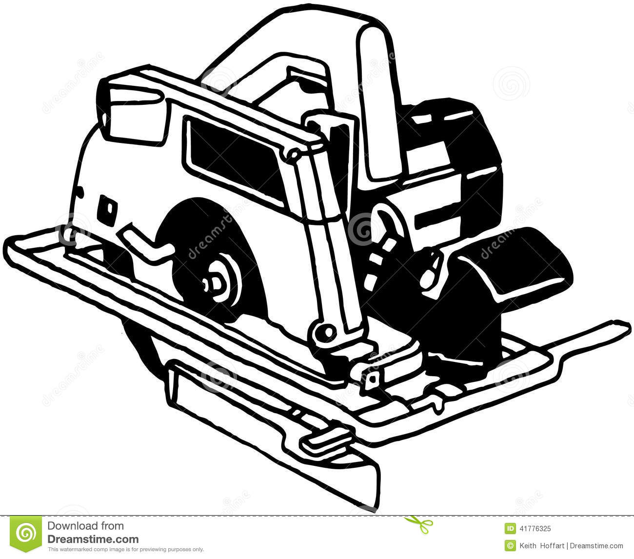 hight resolution of power saw tool cartoon vector clipart