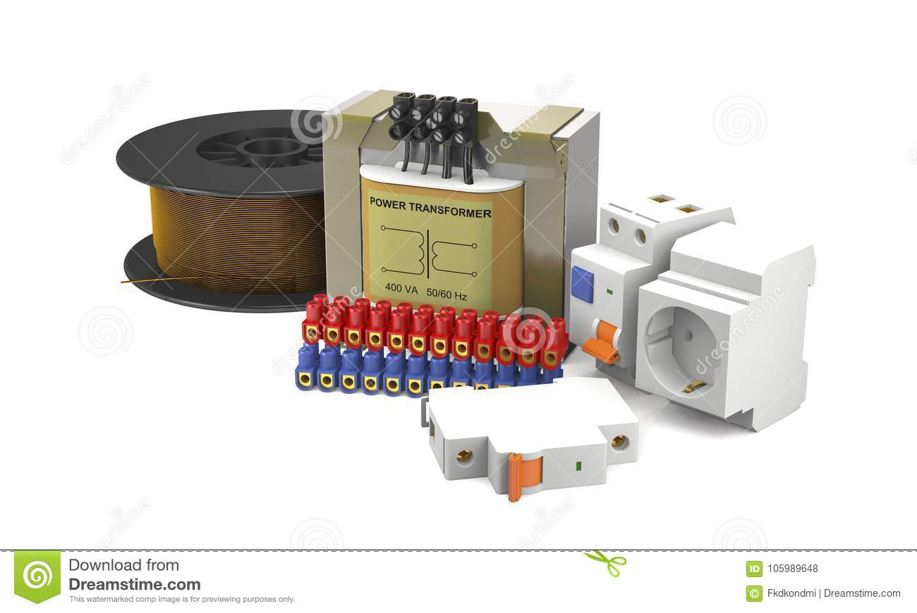 hight resolution of power transformer electrical switches connecting pads and coil