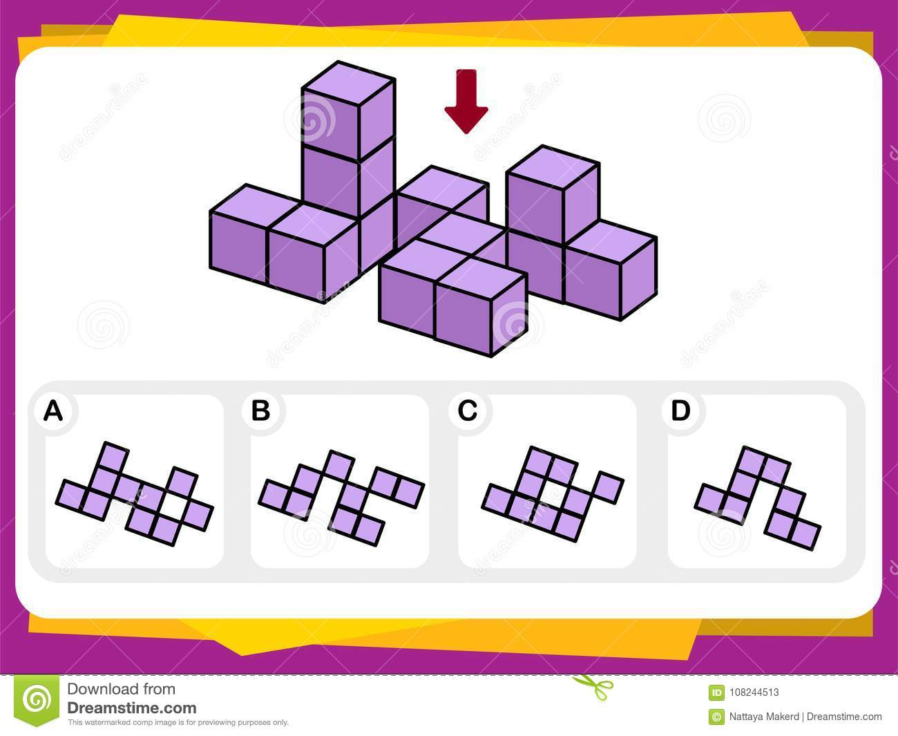 Practice Questions Worksheet For Education And Iq Test