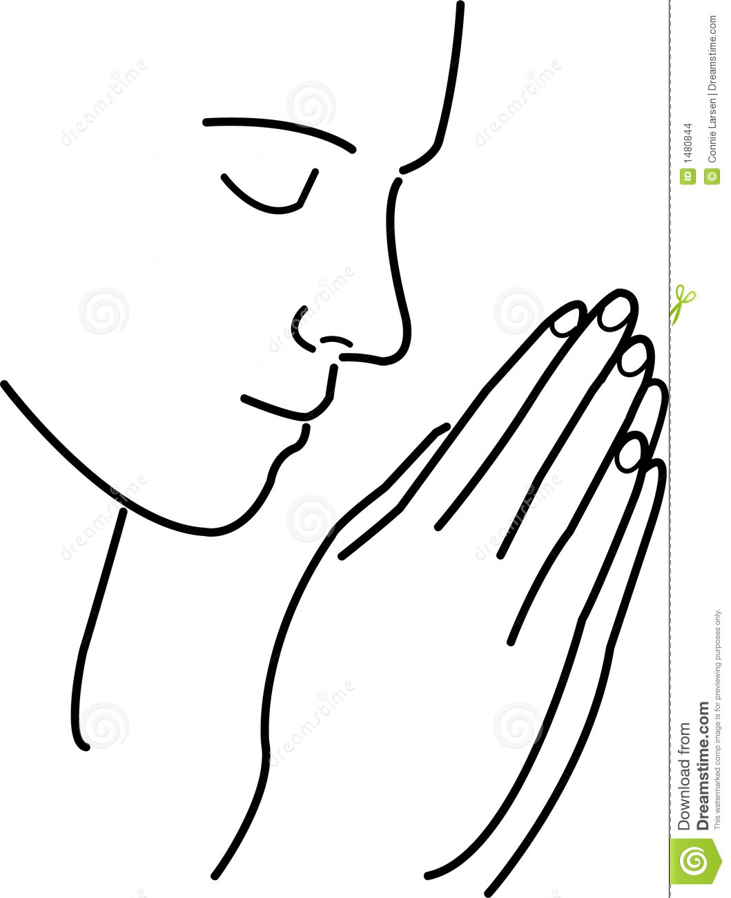 Prayer And Meditation Stock Images